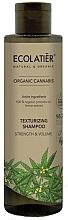 Parfumuri și produse cosmetice Șampon pentru volumul părului - Ecolatier Organic Cannabis Texturizing Shampoo