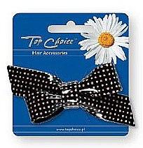 Parfumuri și produse cosmetice Agrafă de păr 26102, alb-negru - Top Choice