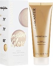 Parfumuri și produse cosmetice Mască de față - Lancaster Instant Glow Gold Peel-Off Mask