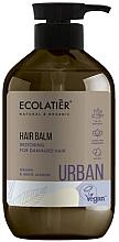 """Parfumuri și produse cosmetice Balsam regenerant pentru păr deteriorat """"Argan și Iasomie albă"""" - Ecolatier Urban Hair Balm"""