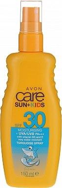 Loțiune impermeabilă pentru copii SPF 30 - Avon Care Sun+ Spray