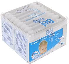 Parfumuri și produse cosmetice Bețișoare din bumbac, 56 bucăți - Bel Baby Safety Cotton Buds