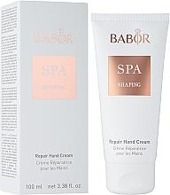 Parfumuri și produse cosmetice Cremă regenerantă pentru mâini - Babor SPA Shaping Repair Hand Cream