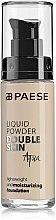 Parfumuri și produse cosmetice Fond de ten - Paese Liquid Powder Double Skin Aqua