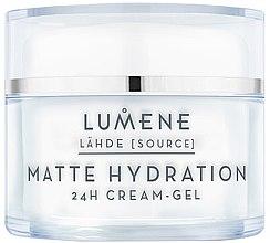 Parfumuri și produse cosmetice Cremă-gel matifiantă pentru față - Lumene Lahde Matt Hydration 24H Cream-Gel