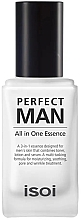 Parfumuri și produse cosmetice Esență pentru față, pentru bărbați - Isoi Perfect Man All in One Essence