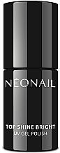 Parfumuri și produse cosmetice Top coat pentru gel-lac, efect lucitor - NeoNail Professional Top Shine Bright UV Gel Polish