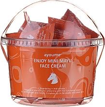 Parfumuri și produse cosmetice Cremă revitalizantă cu ulei de cal pentru față - Ayoume Enjoy Mini Mayu Face Cream
