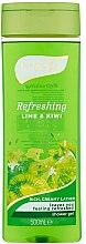 Parfumuri și produse cosmetice Gel de duș - Luksja Refreshing Lime & Kiwi Shower Gel