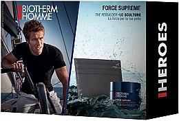 Parfumuri și produse cosmetice Set - Biotherm Homme Force Supreme (cr/50ml + accesories)