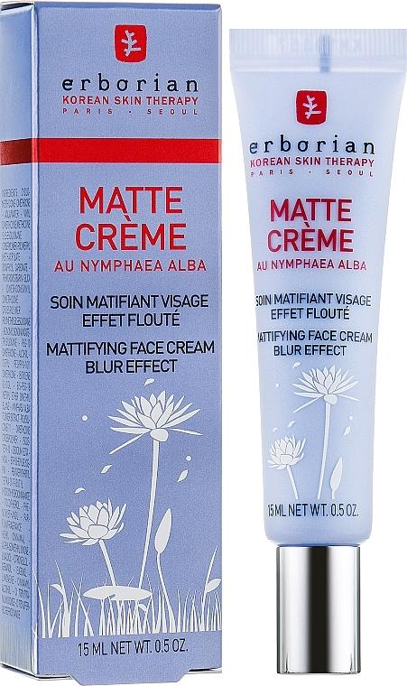 Cremă matifiantă pentru față - Erborian Matt Cream — Imagine N1