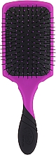 Perie de păr - Wet Brush Pro Paddle Detangler Purple — Imagine N2