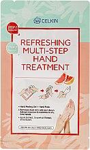 Parfumuri și produse cosmetice Ulei de mâini - Celkin Refreshing Multi Step Hand Treatment