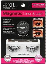 Parfumuri și produse cosmetice Set - Magnetic Lash & Liner Lash Wispies (eye/liner/2g + lashes/2pc)