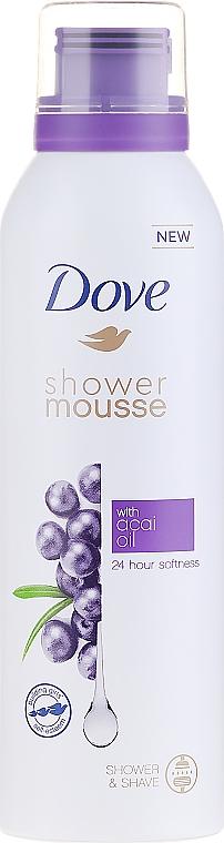 Spumă-Mousse de baie - Dove Acai Oil Shower Mousse