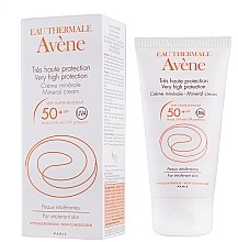 Parfumuri și produse cosmetice Cremă de protecție solară - Avene Solaires Mineral Cream SPF 50+