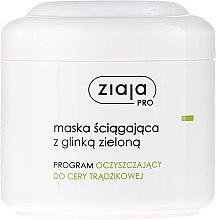 Parfumuri și produse cosmetice Mască de față cu argilă verde - Ziaja Pro Mask With Green Clay
