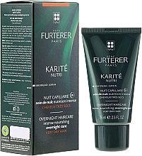 Parfumuri și produse cosmetice Ночной крем для волос - Rene Furterer Karite Nutri Overnight Haircare Intense Nourishing Overnight Care