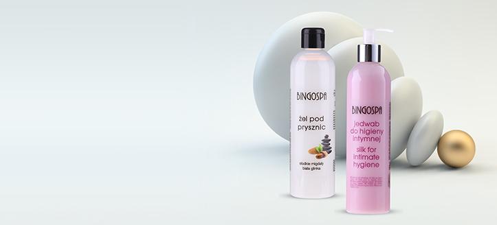 La achiziționarea produselor BingoSpa începând cu suma de 265 MDL, primești cadou un gel pentru igiena intimă