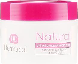 Cremă de noapte pentru față - Dermacol Natural Almond Oil Nourishing Care Cream — Imagine N2