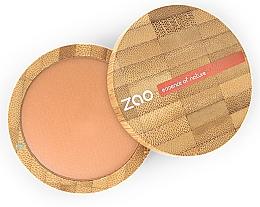 Parfumuri și produse cosmetice Pudră bronzantă matifiantă - Zao Natural Glow Terracotta Matt Mineral Cooked Powder