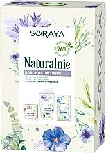 Parfumuri și produse cosmetice Set - Naturalnie (day/cream/50ml+micel/water/200ml+mask/15g)