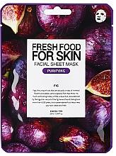 """Parfumuri și produse cosmetice Mască din țesut """"Smochin"""" pentru față - Superfood For Skin Facial Sheet Mask Fig Purifying"""