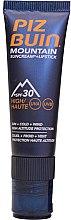 Parfumuri și produse cosmetice Balsam-cremă de buze cu protecție solară - Piz Buin Mountain Suncream + Lipstick SPF30