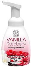 "Parfumuri și produse cosmetice Мыло-пенка для рук ""Ваниль и малина"" - Australian Gold Foaming Hand Soap Vanilla Raspberry"