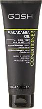 Parfumuri și produse cosmetice Balsam pentru păr - Gosh Macadamia Oil Conditioner