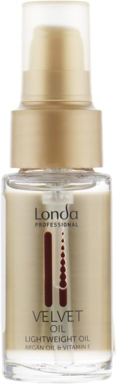 Масло для волос аргановое - Londa Professional Velvet Oil Lightweight Oil