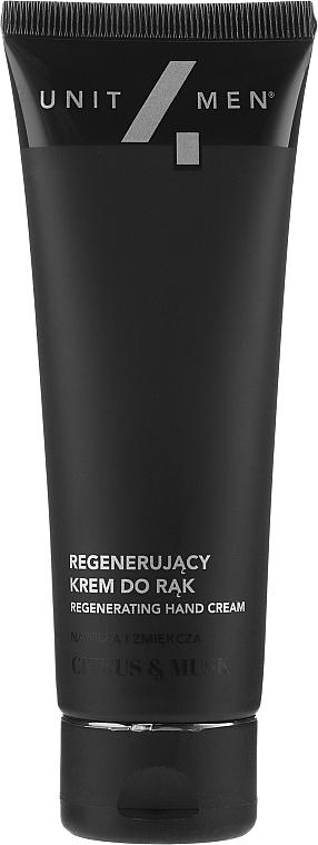 Cremă regenerantă pentru mâini - Unit4Men Citrus&Musk Revitalizing Hand Cream — Imagine N2