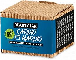 Parfumuri și produse cosmetice Scrub solid, anticelulitic pentru corp - Beauty Jar Cardio Is Hardio Anti-Cellulite Solid Body Scrub