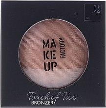 Parfumuri și produse cosmetice Bronzer pentru față - Make up Factory Touch Of Tan Bronzer