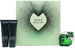 Parfumuri și produse cosmetice Thierry Mugler Aura Mugler - Set (edp/30ml + b/lot/50ml + sh/gel/50ml)