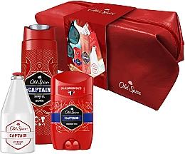 Parfumuri și produse cosmetice Set - Old Spice Captain (deo/50g + sh/gel/250ml + ash/lot/100ml)