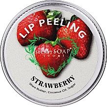 """Parfumuri și produse cosmetice Scrub de zahăr pentru buze """"Căpșună"""" - The Secret Soap Store Lip Scrub"""