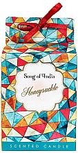 """Духи, Парфюмерия, косметика Ароматизированная свеча в стеклянной банке """"Жимолость"""" - Song of India Honeysuckle Candle"""
