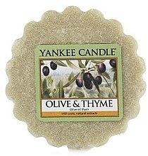 Parfumuri și produse cosmetice Ceară aromată - Yankee Candle Olive & Thyme Wax Melts