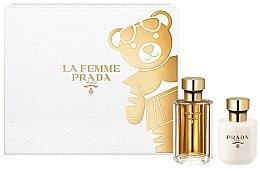 Parfumuri și produse cosmetice Prada La Femme Prada - Set (edp/50ml + b/lot/100ml)