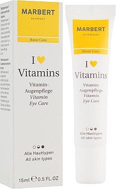 Cremă pentru zona din jurul ochilor - Marbert I love Vitamins Eye Care — Imagine N1