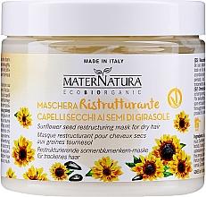 Parfumuri și produse cosmetice Mască de păr regenerantă și hidratantă - MaterNatura Sunflower Seeds Restoring Mask