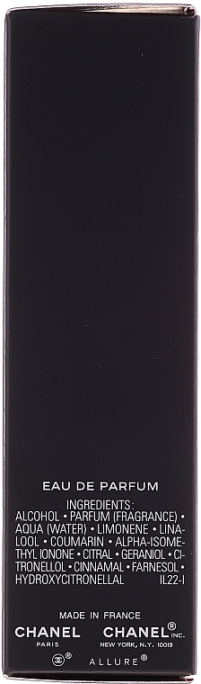 Chanel Allure Homme Sport Eau Extreme - Apă de parfum (edp/20ml + refills/2x20ml) — Imagine N5