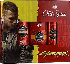 Set - Old Spice Cyberpunk (deo/50g + sh/gel/250ml + deo/spray/150ml) — Imagine N1