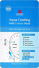Parfumuri și produse cosmetice Mască de față - Leaders Ex Solution Aqua Coating Mild Cotton Mask