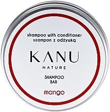 Духи, Парфюмерия, косметика Шампунь для волос 2 в 1, в металлической коробке - Kanu Nature Shampoo With Conditioner Shampoo Bar Mango