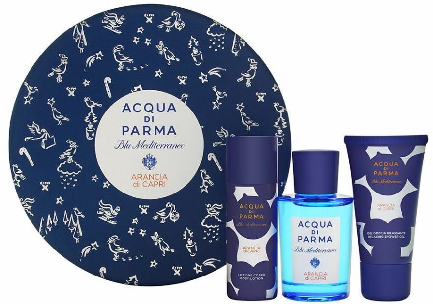 Acqua di Parma Blu Mediterraneo Arancia di Capri - Set (edt/75ml + sh/gel/40ml + b/lot/50ml) — Imagine N1