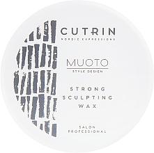 Parfumuri și produse cosmetice Ceară de păr pentru sculptare - Cutrin Muoto Strong Sculpting Wax