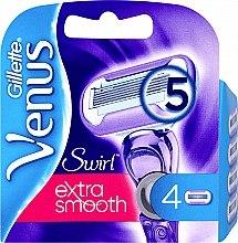 Parfumuri și produse cosmetice Casete de rezervă pentru aparat de ras, 4 bucăți - Gillette Venus Swirl