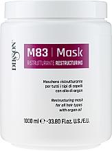 Parfumuri și produse cosmetice Mască pe bază de ulei de argan pentru păr - Dikson M83 Restructuring Mask